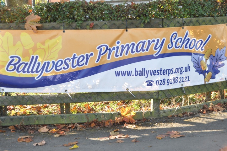 Ballyvester PS sign