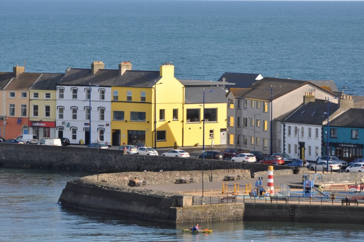 Donaghadee harbour from Moat