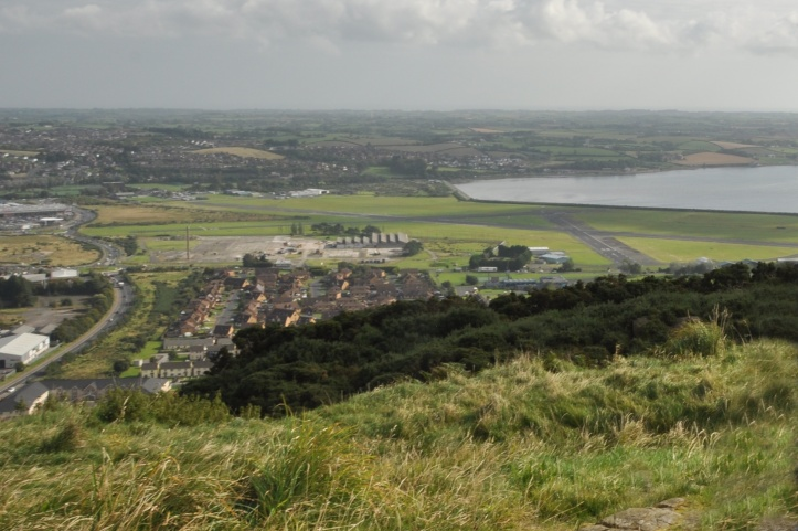 Newtownards Commons from Scrabo RT