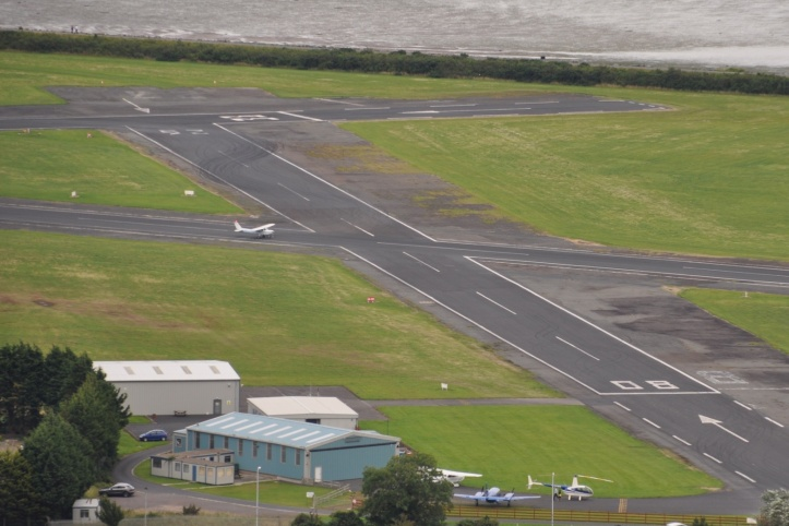 Ards airport runways