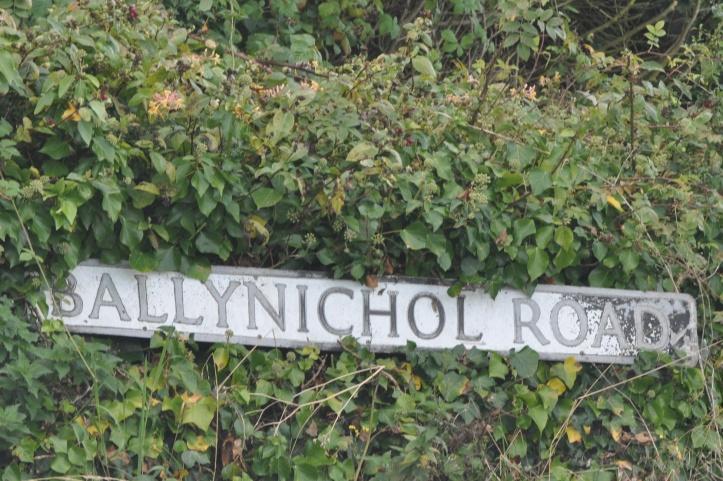 Ballynichol Road sign (1)