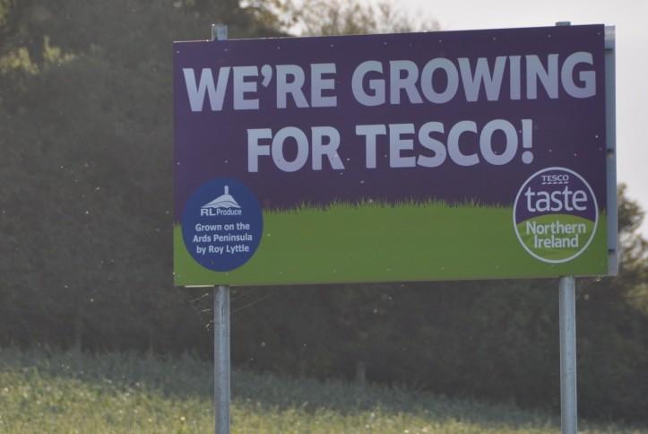 Ballyreagh Tesco sign