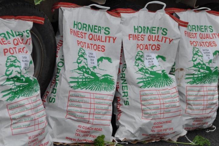 Horner potato bags