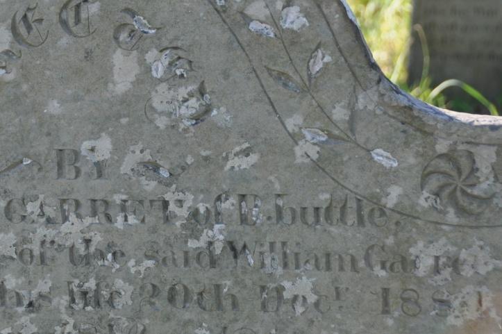 Ballybuttle gravestone Garret