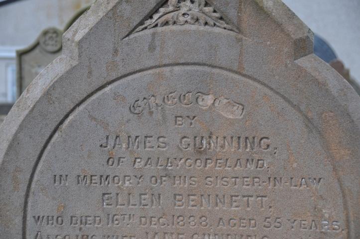 Ballycopeland grave in Millisle