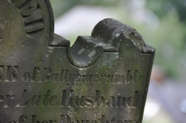 Ballymacromwell gravestone