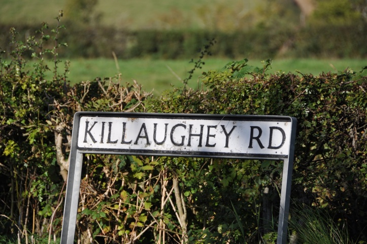 Killaughey Road sign
