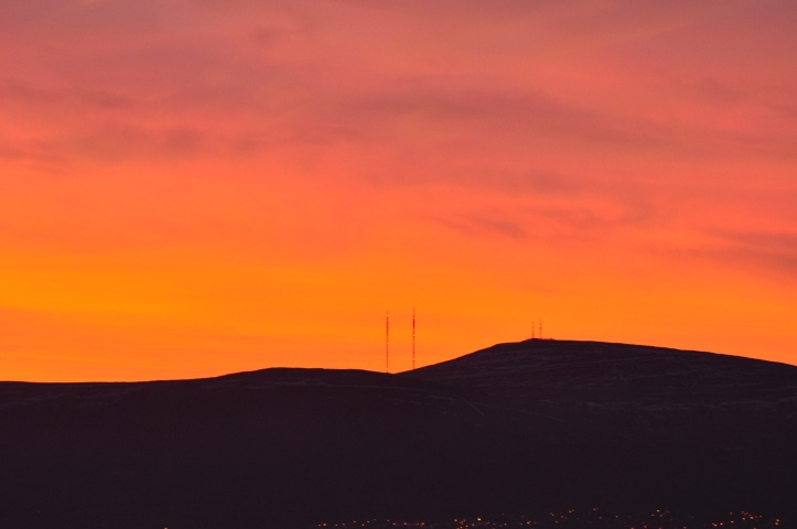 divis sunset - Version 2