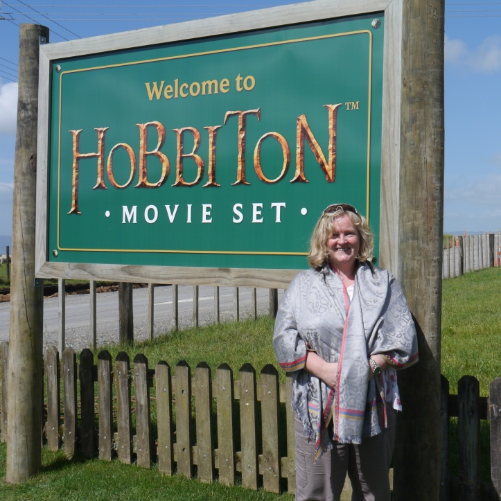 Hobbiton Movie set sign