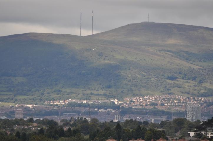 TV transmitters Divis Black Mountain