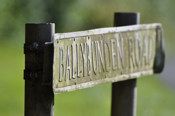 Ballybunden road sign