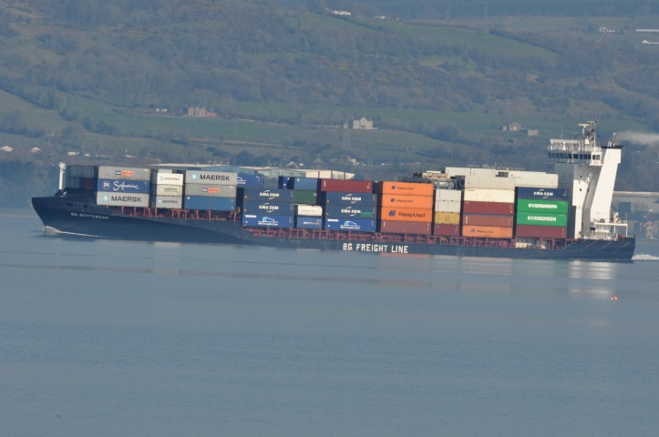 Craigavad container ship