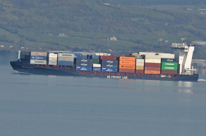 Craigavad container ship