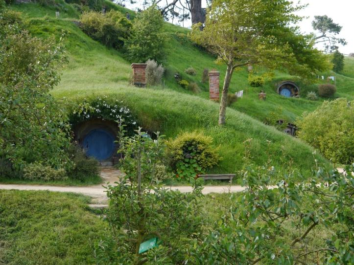 Hobbiton hillside
