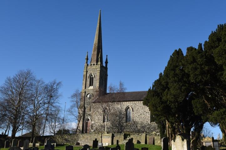 Kilmood churchyard