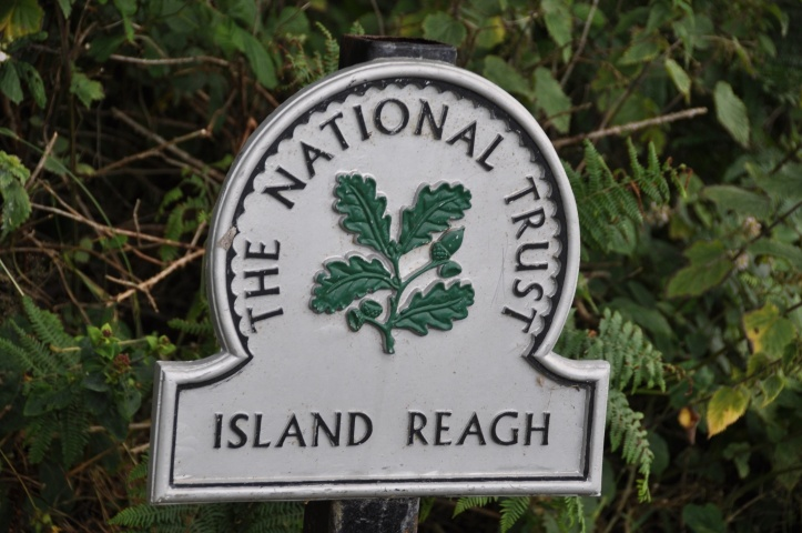 Reach Island sign