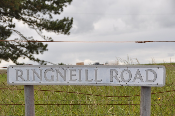 Ringneill Road sign