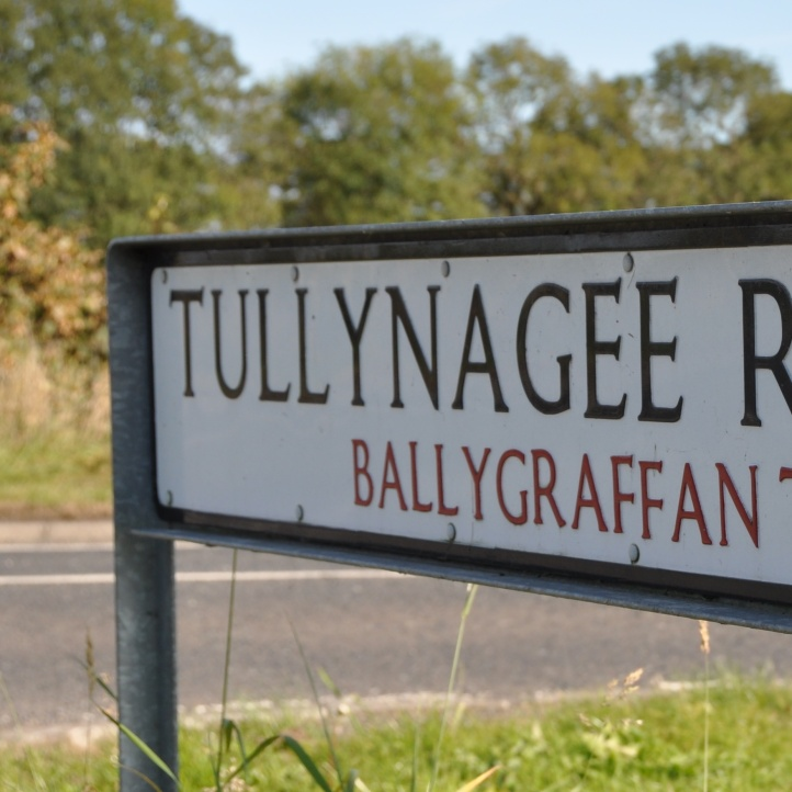 Tullynagee sign