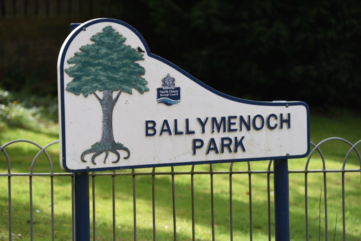 Ballymenoch park sign