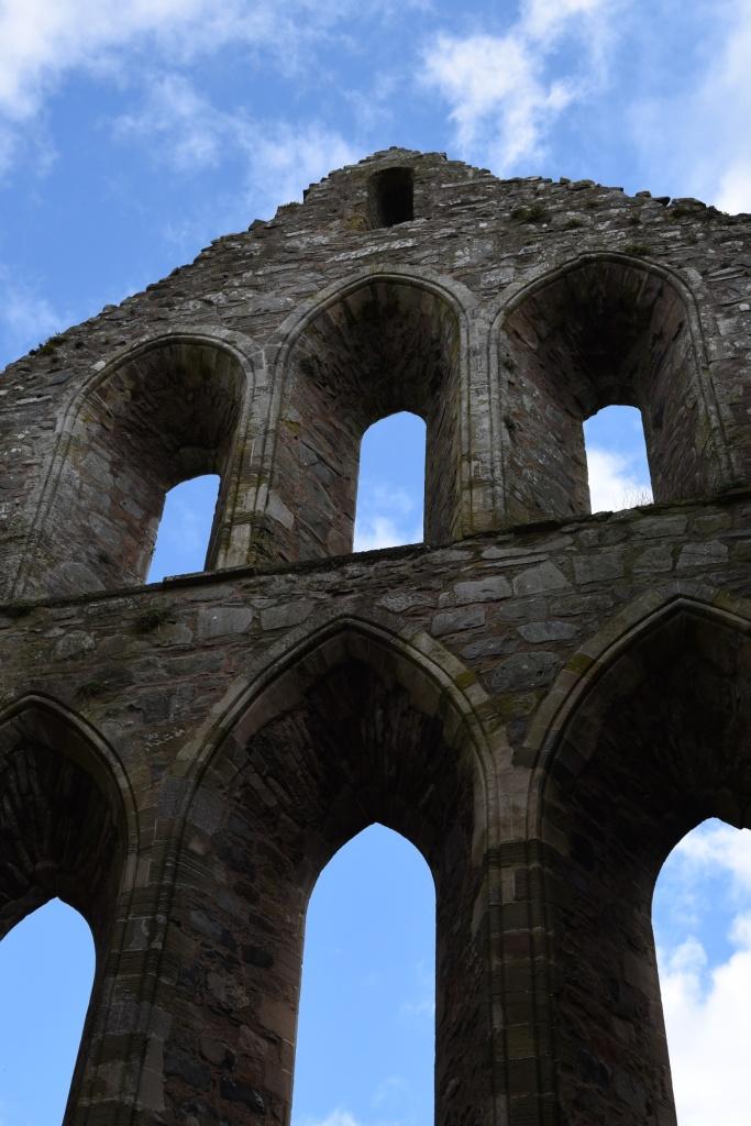 Greyabbey abbey windows