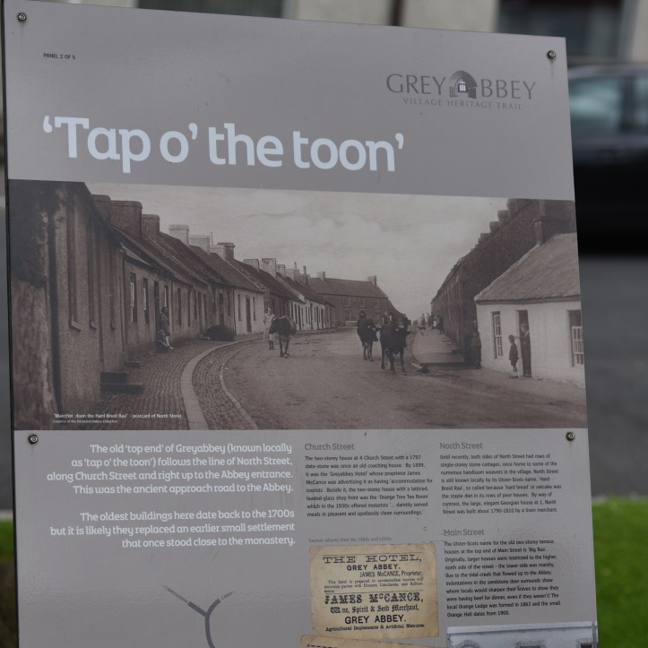 Greyabbey Tap Toon sign
