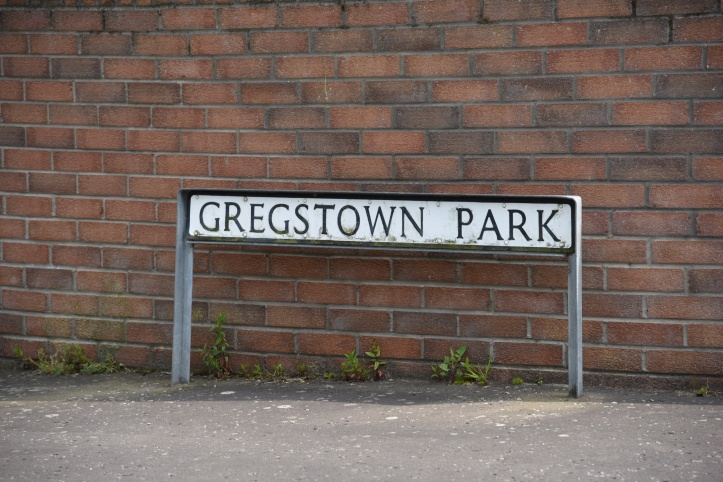 Gregstown Park sign