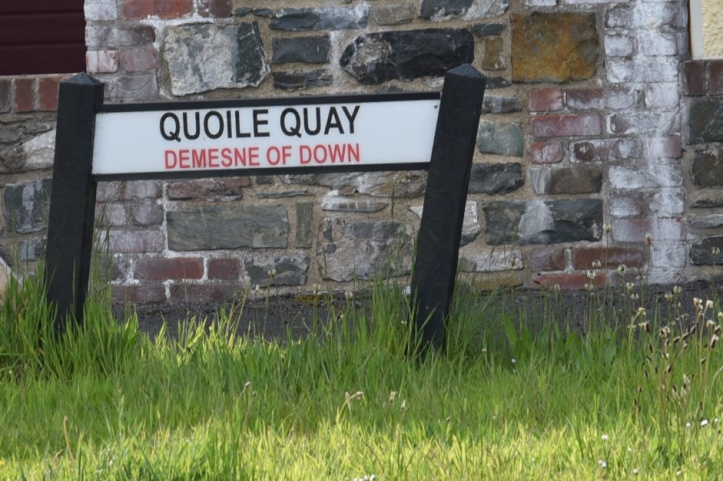 Quoile Quay sign