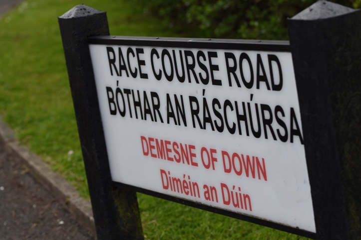 Race Course Road sign