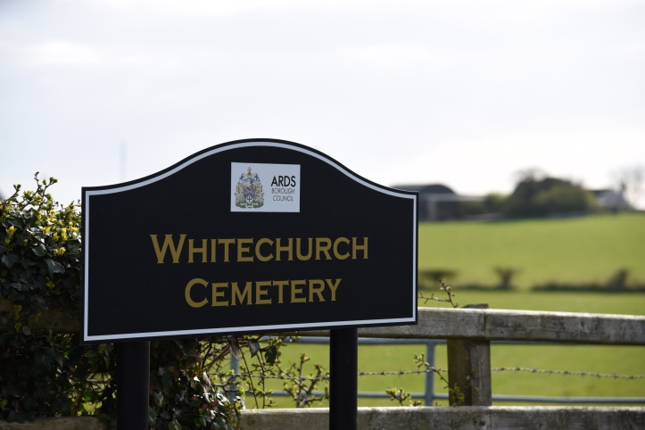 Whitechurch Cemetery sign