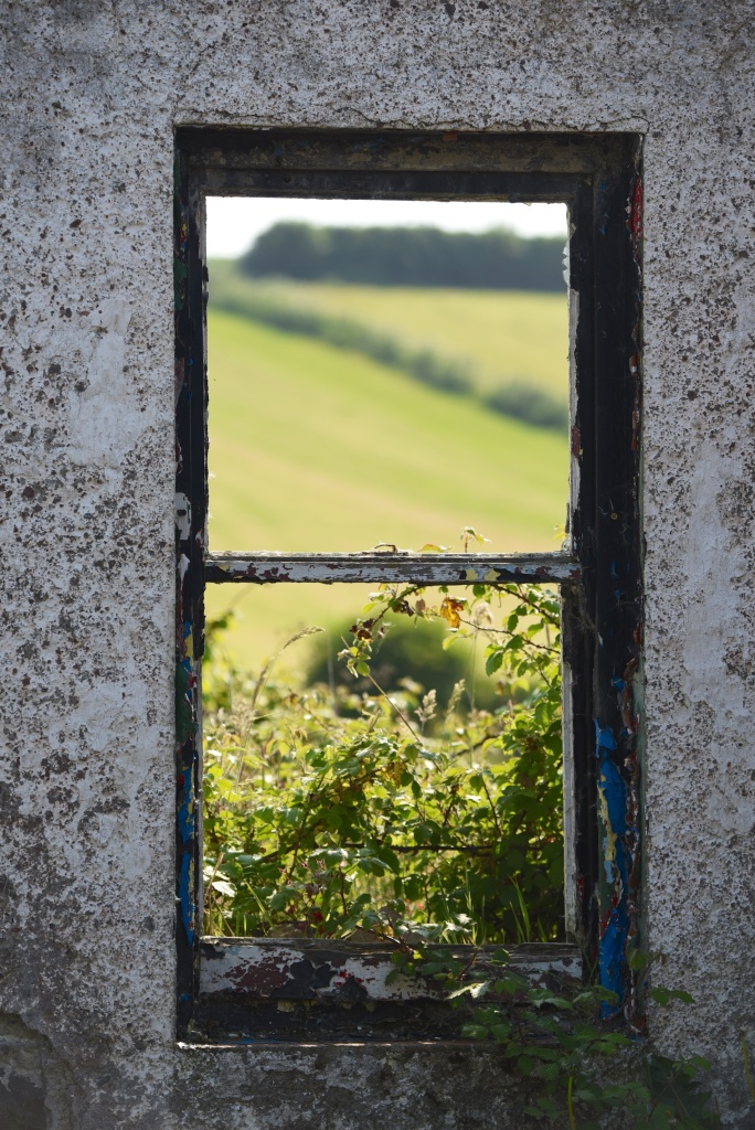 Ardmillan ruined window Ballymartin