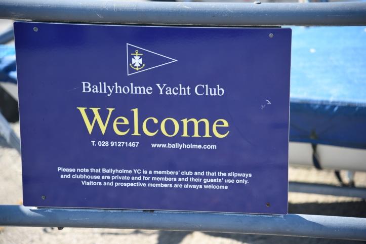 Ballyholme YC sign