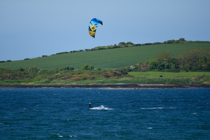 Ballymacormick kitesurfer