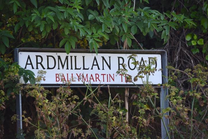 Ballymartin townland sign