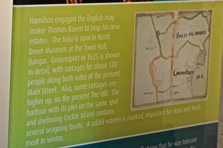 Groomsport Raven townland map