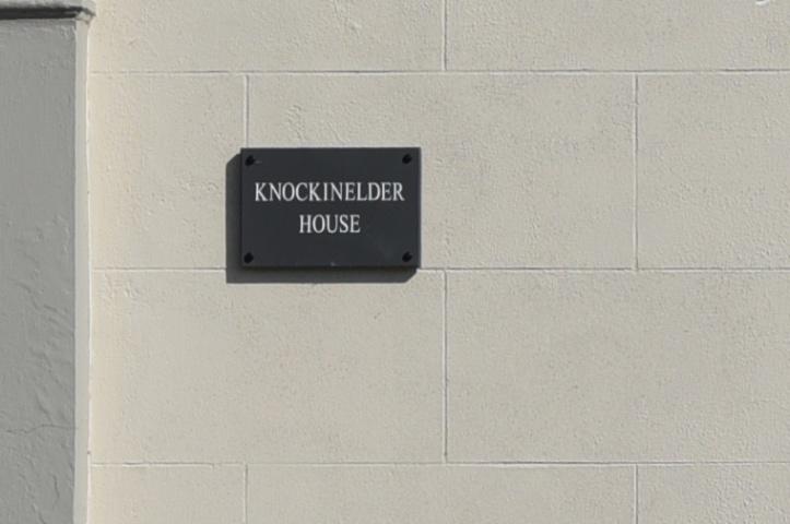 Knockinelder house sign (1)