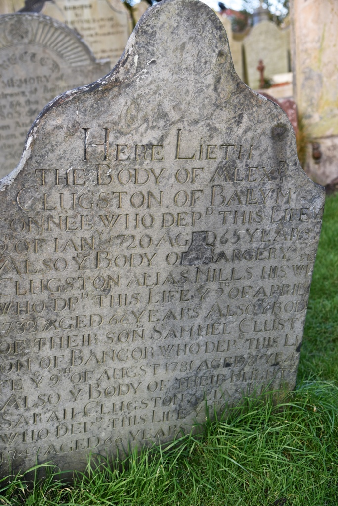 gravestone-for-clugston-of-ballymaconnell-1720