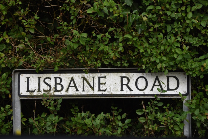 lisbane-road-sign