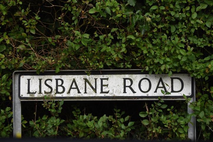 lisbane-road-sign