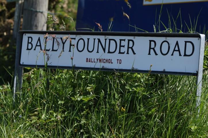 ballyfounder-ballynichol-sign