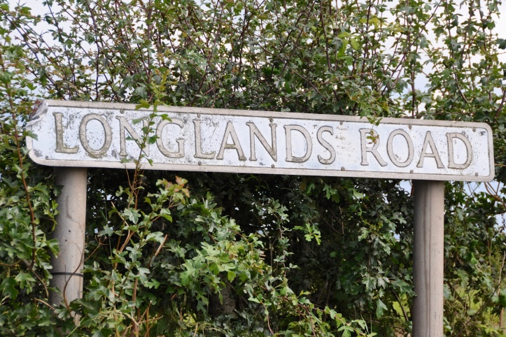 Longlands street sign