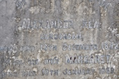 Carsons Dam (which could be Carsonstown or Aughnadarragh) on a gravestone in Saintfield
