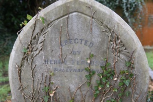 Gravestone in Breda for Ferguson of Ballynafeigh (Ballynafoy)