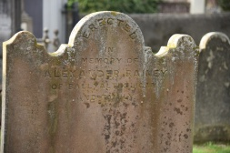 Gravestone in Moneyreagh for Rainey of Ballyaltikilligan