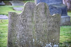 Gravestone for Gibson of Ballydavey