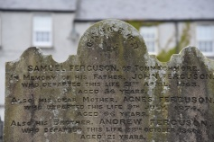Gravestone for Ferguson of Tonaghmore in Saintfield